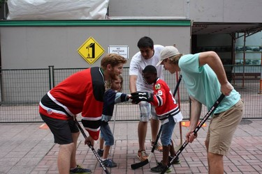 Will You Play Hockey for Food?
