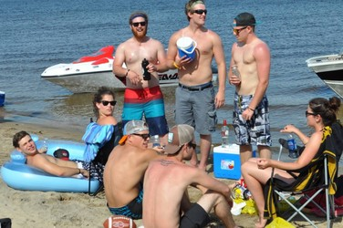 Welcome to Rowdy Beach! Bay of Constance Sorrow: Frustrated Residents, Powerless Police and Drunks on the Beach