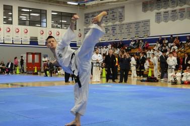 Curtis Lu is a Homegrown Taekwondo Champion