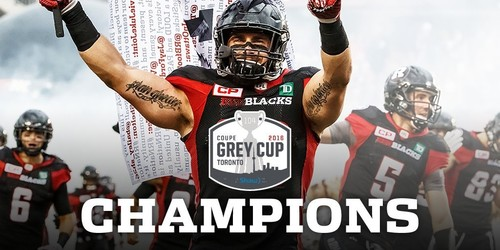 40 Years in the Making: Redblacks Win Grey Cup!