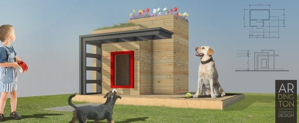 Homes for Woofs! Custom Doghouse Auction