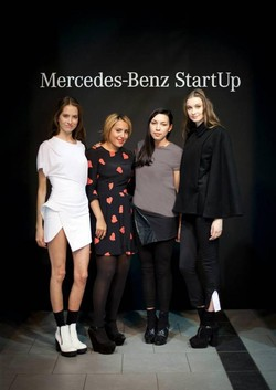 Win two tickets to the Mercedes-Benz Start Up