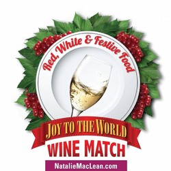 """Cast Your Vote in the """"Joy to the World Holiday Wine Match"""""""