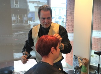 Ronnie DeLuca – Ottawa's Hair Architect, Innovator, and Influencer