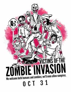Zombies Invade Ottawa's Bank Street this Halloween