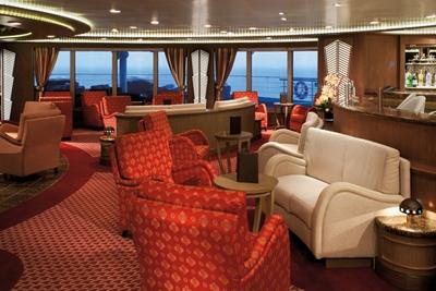 Panorama Lounge - Deck 9 Aft Silver Spirit - Silversea Cruises