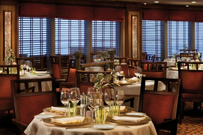 La Terrazza - Deck 7 Aft Silver Spirit - Silversea Cruises