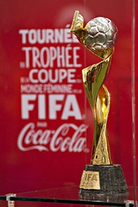 FIFA Women's World Cup Trophy Tour by Coca-Cola 7 April 2015 - Brossard, QC, Canada Canada Soccer Andrew Soong.