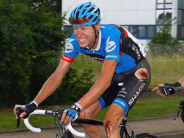 Canada's Ryder Hesjedal finished sixth at the 2010 Tour.