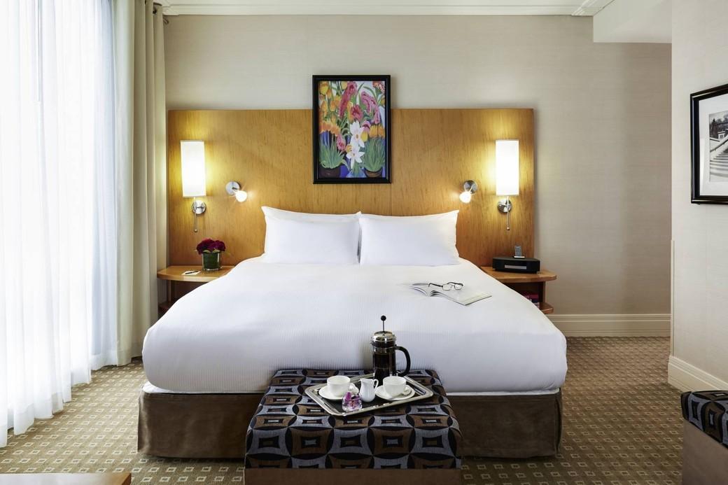 Photo of Sofitel hotel room Photo credit: Sofitel