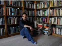 British Columbia writer Steven Price. Don Denton photo