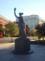 The Victims of Communism Memorial in Washington, D.C.