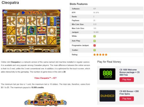 Play Pharaoh's Secrets Slots Online at Casino.com Canada