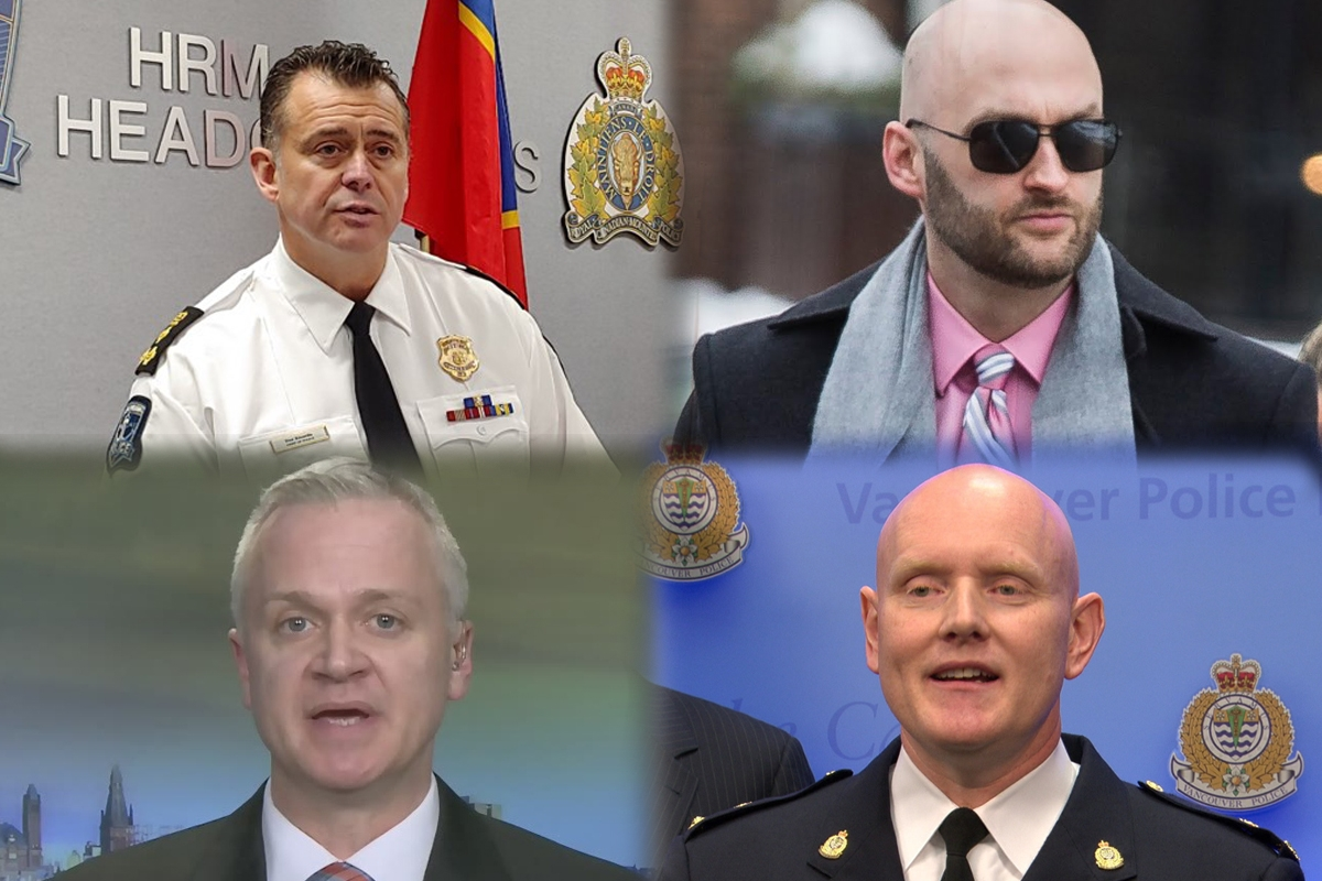 Halifax Police Chief Dan Kinsella is proof a fish rots from the head down