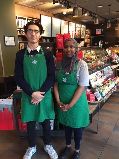 Mayor and starbucks serve up jobs for ottawa youth for Youth bureau ottawa