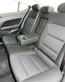 Elantra GLS models and higher get heated rear seats (in the outboard positions).