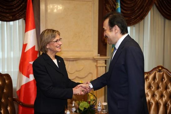 Ottawa - Astana Dialogue Strengthens