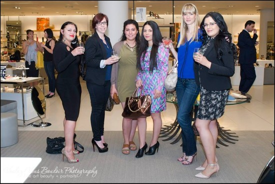 Ottawa Socialites Gather Over Shoes, Fashion and Business