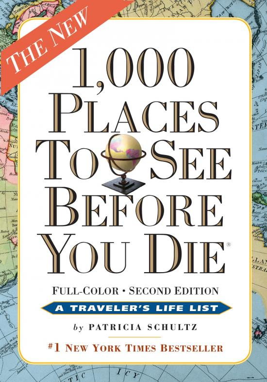 Book Review: 1000 Places to See Before You Die