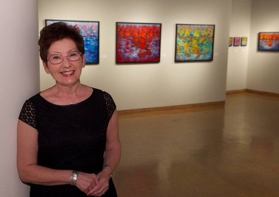 Margaret Chwialkowska Illustrates Reflection in Annex Gallery Exhibit