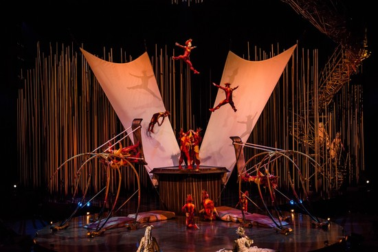 Cirque du Soleil Lands in the Capital