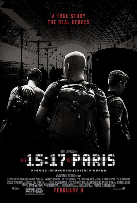 Film Review: The 15:17 to Paris