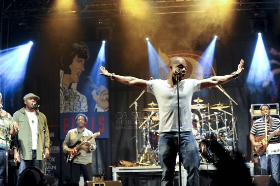 OLM Photo Gallery: Kirk Franklin Brings Gospel Sound to Bluesfest