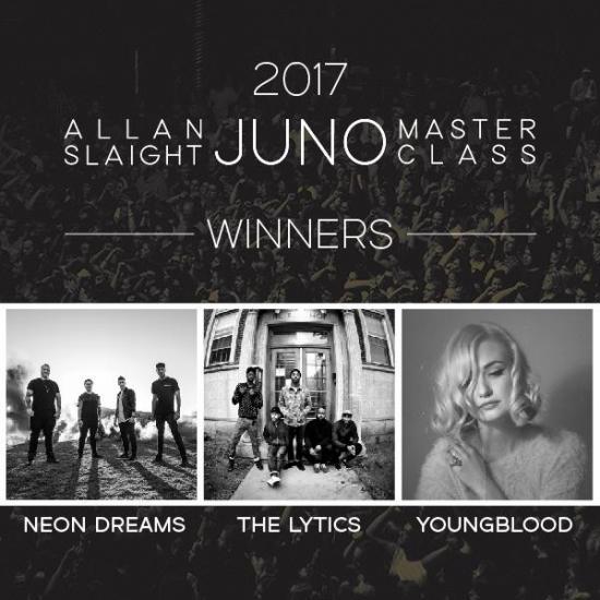 JUNO Spotlight: Allan Slaight JUNO Master Class of 2017