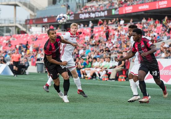 Ottawa Fury get 2-0 win during I Heart Soccer Week