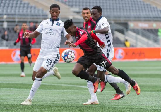 Must win game for Ottawa Fury ends in 0-0 draw