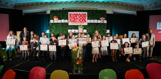 Kid Food Nation gala in Ottawa celebrates young chefs