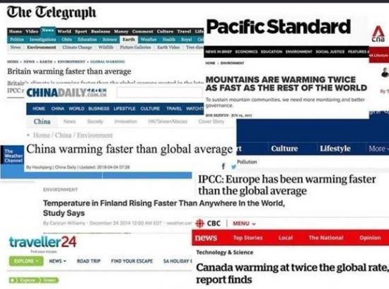 IPCC refutes climate change hysteria