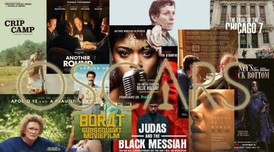 A round up of Academy Award nominated films