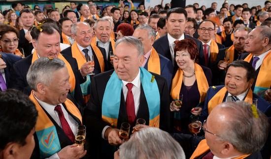 Kazakhstan's Nursultan Nazarbayev Wins His Fifth Election