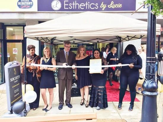 Society Salon Celebrates Grand Opening