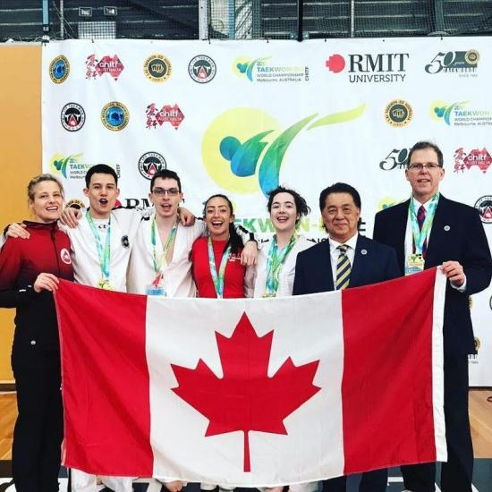 5 Ottawa-based martial artists participate in the CHITF Taekwon-Do World Championships