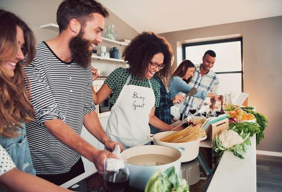 Connect with your community through a love of food