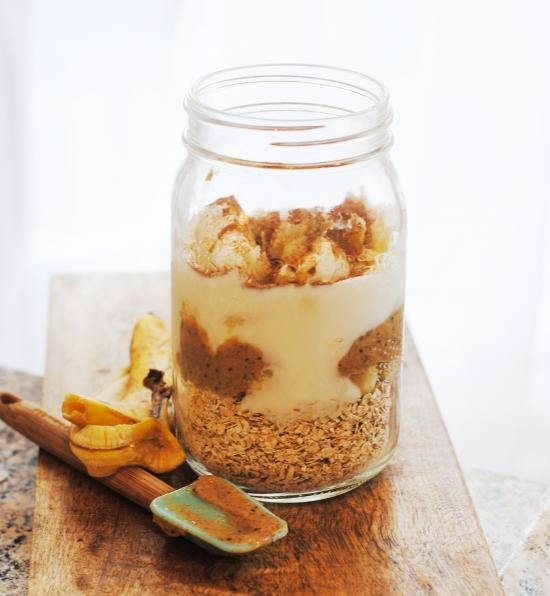Jumpstart your mornings with healthy overnight oats