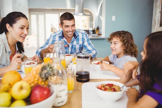Finding time for family breakfast