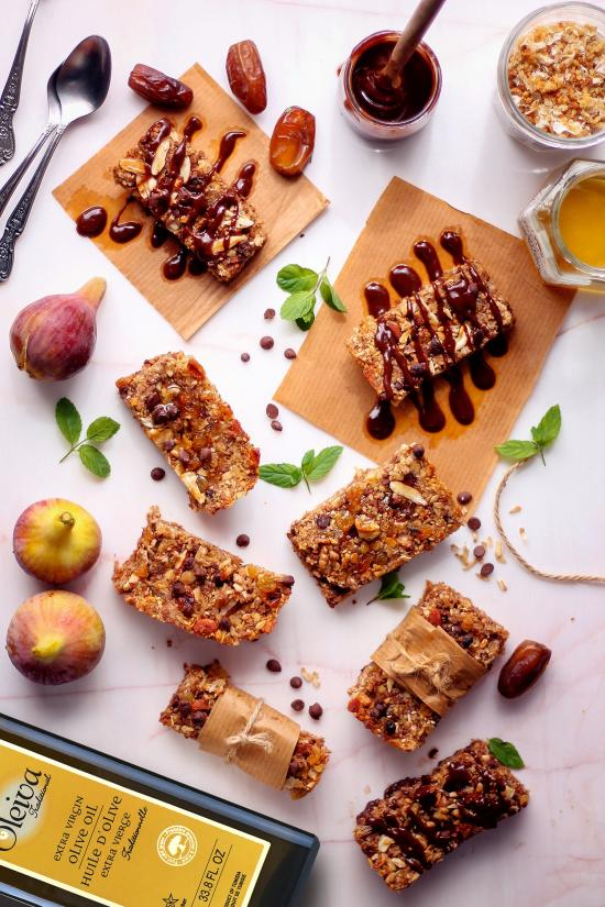 Breakfast, snack and dessert, granola treats you can feel good about