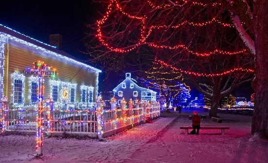 The Night's Alight at Upper Canada Village