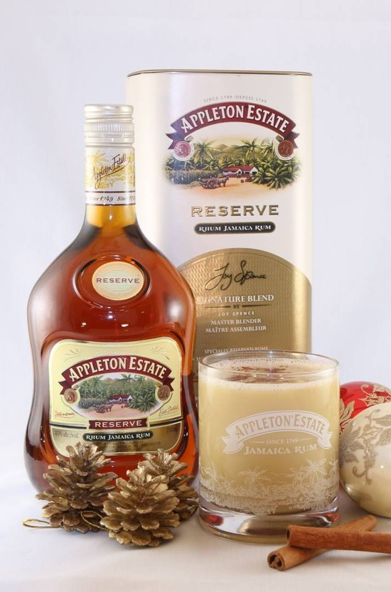 Holiday Cheer: Appleton Estate Eggnog