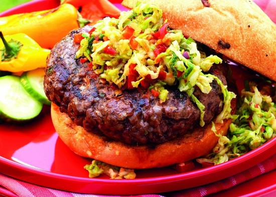 Burger of the Week: Chile-Beef Burgers