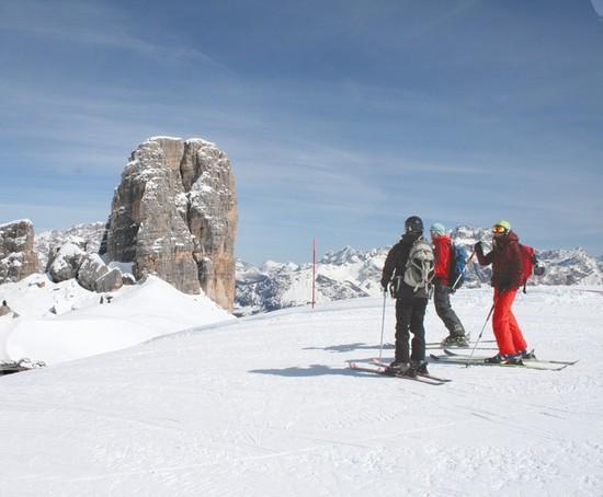 Skiing the Unbelievably Beautiful Italian Dolomite Mountains