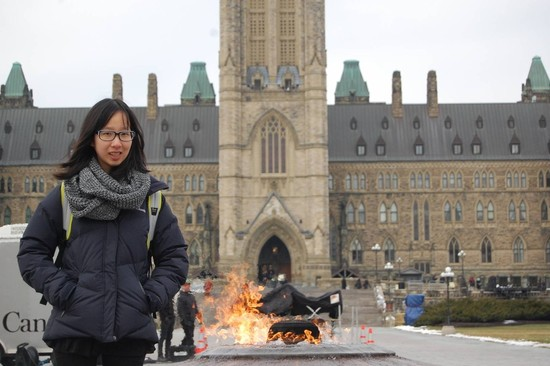 Co-Op Students Explore Ottawa Part Two – Justine on Parliament Hill