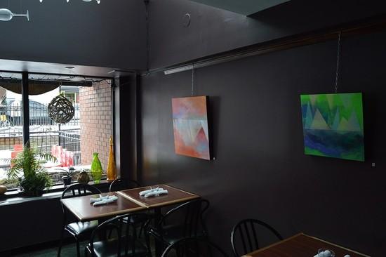 Kat Jetté Showcases Work at Oz Kafe