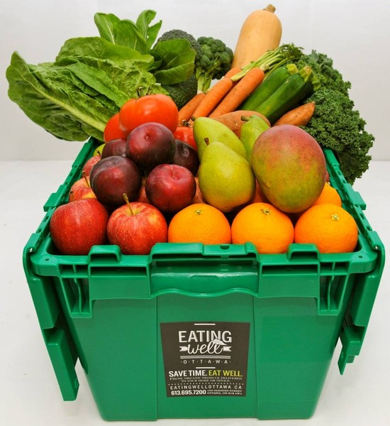 Organics Knocking at Your Door: Eating Well Ottawa Makes Healthy Choices Easy