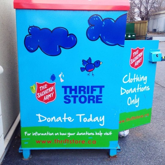 Support the Community and Score Some Steals at Salvation Army