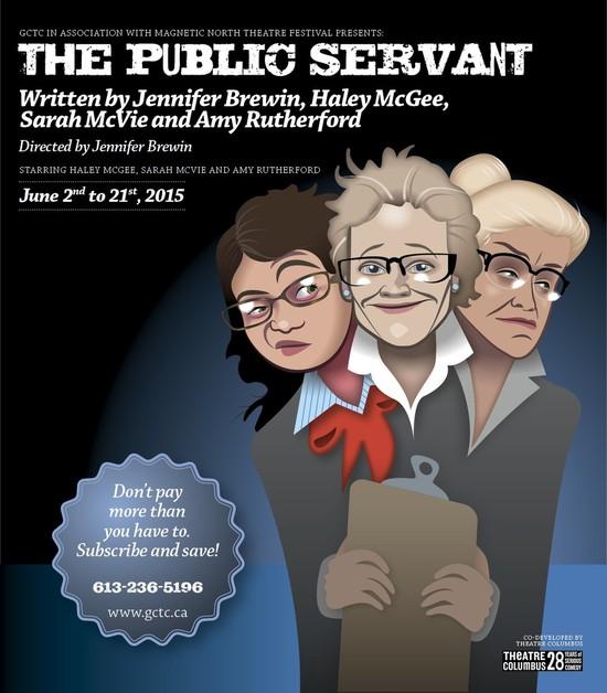 The Public Servant Serves Up the Satire