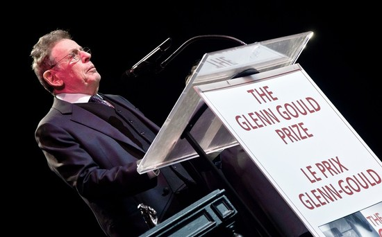 More Than Genius Honored as Philip Glass Accepts Glenn Gould Prize